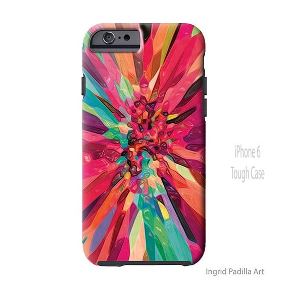 Bursting - Colorful iPhone 7 case, iPhone 7 Plus case, Galaxy S8 Case, Ingrid Padilla