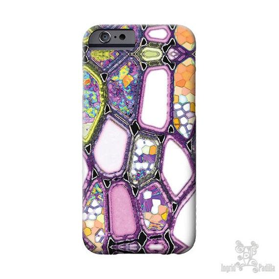 iPhone Xs Case, Violet Cells, iphone 8 case, Purple, iPhone 8 plus case, iPhone 7 Plus case, iPhone X Case, iPhone Xs case, Galaxy S9 Case