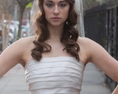 High Fashion Birdcage Wedding Veil