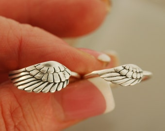 Angel Wing Rings  Mom & Daughter Rings