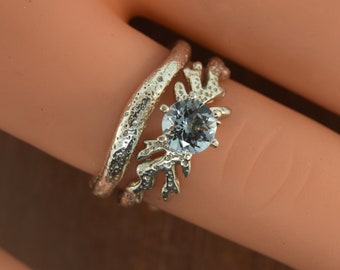 Reef Collection Coral Engagement Set