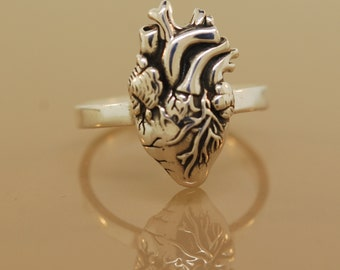 Sale Anatomical Heart Ring