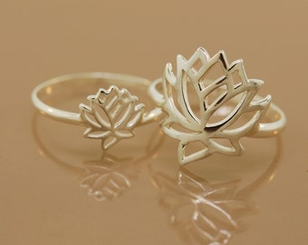 Lotus Rings, Mom & Daughter