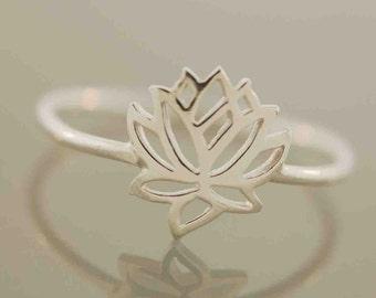 The Original Tiny Wonders Lotus Ring,