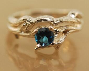 Vine Ring,Wedding Ring,Alternative Wedding Ring,Twig Ring,Branch Ring,Moonstone Ring,Engagement Ring,Engagement Twig Ring