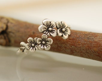 The  Original Ch ch Cherry Blossom Ring Sterling Silver