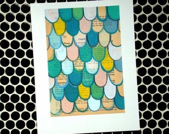 Green Dragon - Fine Art Giclee Print