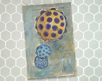 Purple Galaxies  - Fine Art Giclee Print