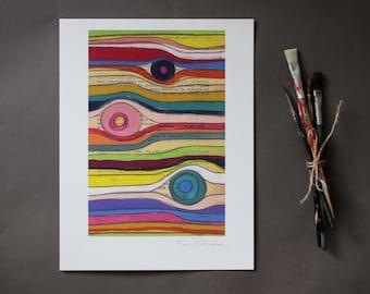 Peeky-Boo - Fine Art Giclee Print