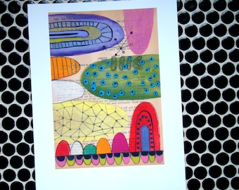Mounds - Fine Art Giclee Print