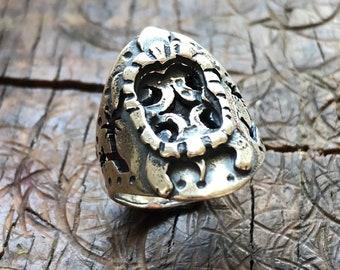 Tortoise and Joshua Trees Ring