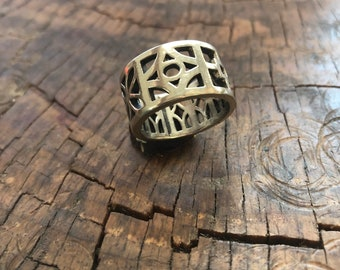 Downtown LV Sterling Silver Ring