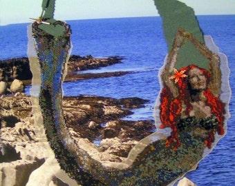 Peyote stitch pattern for Mermaid Necklace