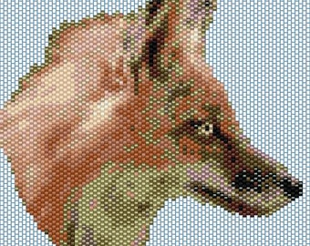 Fox Peyote stitch PATTERN