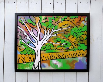 "The Wishing Tree - 20""x16"" - Original painting by Joel Traylor"
