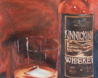 Whiskey Rocks- Original Oil Painting