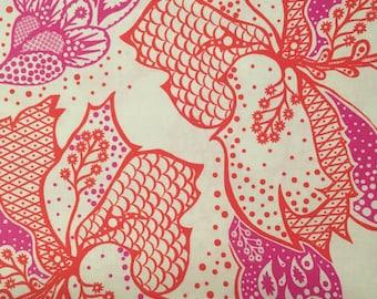 Anna Maria Horner Good Folks Orange Pink Filigree