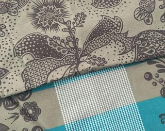 Anna Maria Horner Good Folks Cotton Fabric Fat Quarter Bundle Blue