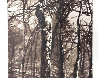 Finger Tree limited edition etching