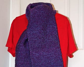 Vineyard Double Thick,  Plush, Soft, and Warm  Handwoven Scarf
