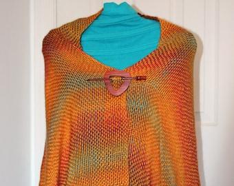 Sunrise Shawl - Handwoven Fashion Shawl
