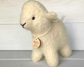 Lamb-Stuffed Animal-  Eco-Friendly- All Natural- Sheep