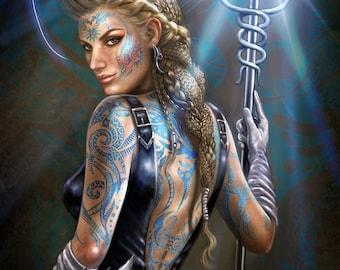 Fantasy Art Cleric Magic