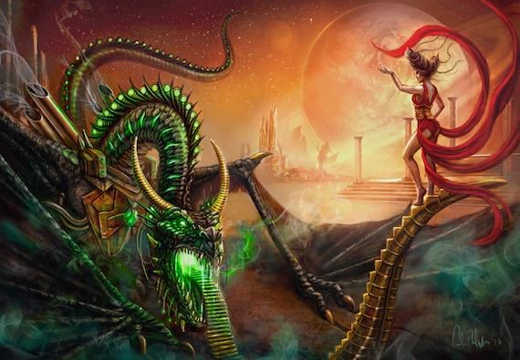 Chinese Fantasy Art Sorceress