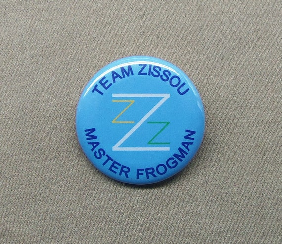 The Life Aquatic Team Zissou Master Frogman  Iron On Patch Iron on Applique