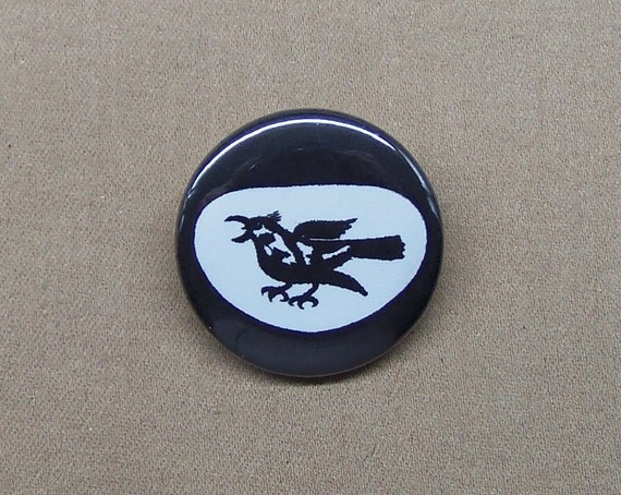 Thrush Logo Button 1 25 Man From U N C L E Uncle Etsy