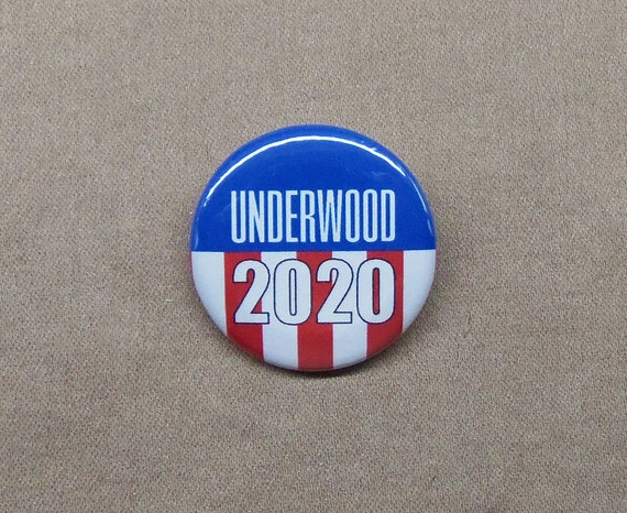 House Of Cards New Season 2020 Underwood 2020 1.25 Button 'House of Cards' | Etsy