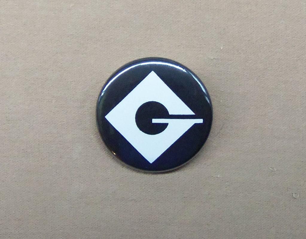 Despicable Me Villain Gru Logo Button 125 Minions Etsy