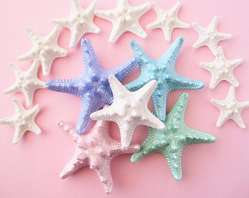 Starfish Hair Clip Mermaid Knobby Starfish Mermaid Costume image 0