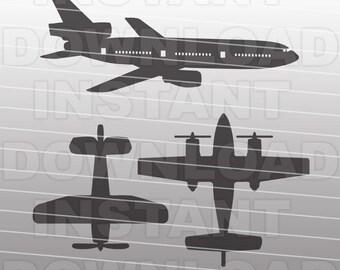 Airplane Svg Etsy