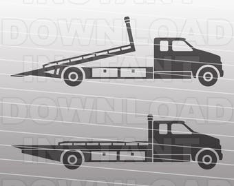 Tow Truck Svg Etsy