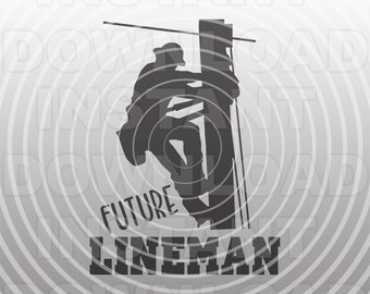 Future Lineman SVG File,Electrician svg,Utility Worker svg -Vector Art Commercial & Personal Use- For Cricut,Silhouette,Cameo,Vinyl Cut File