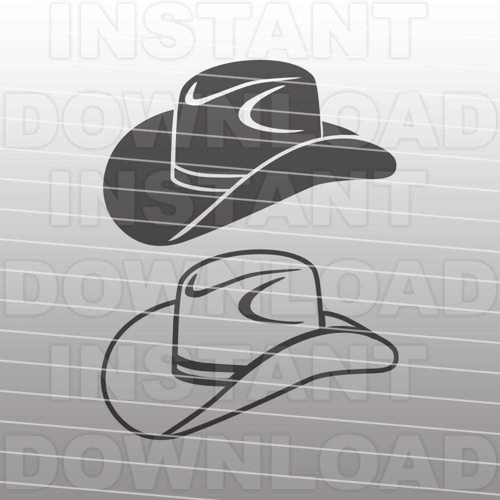 Cowboy Hat Svg File Country Western Vector Art Etsy Filesolar Cell Equivalent Circuitsvg Wikimedia Commons