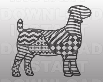 Show goat clip art | Etsy