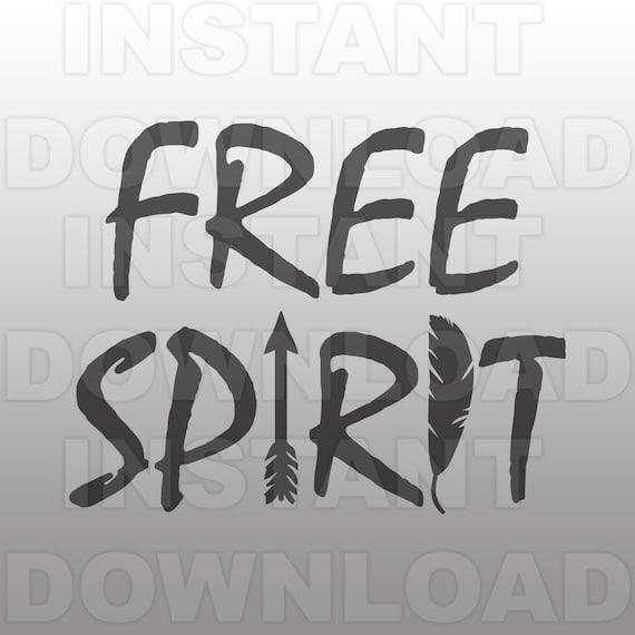 Free Spirit Svg Fileboho Svg Fileindian Svg Personal Etsy