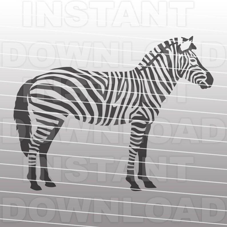 Zebra SVG File,Safari SVG,Africa svg,Zoo svg,Animal svg -Commercial &  Personal Use- Vector Art SVG Cut File,Silhouette svg,Cricut svg