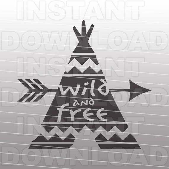 Western Svgwild And Free Svg Fileindian Svg File Vector Clip Etsy