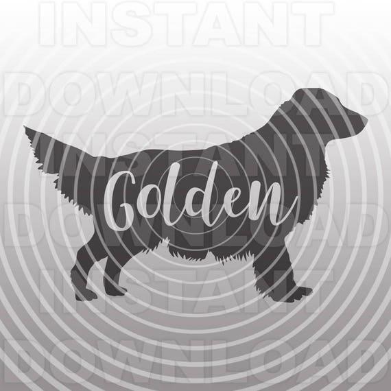 Golden Retriever Svg Filefunny Dog T Shirt Svg Filegolden Etsy