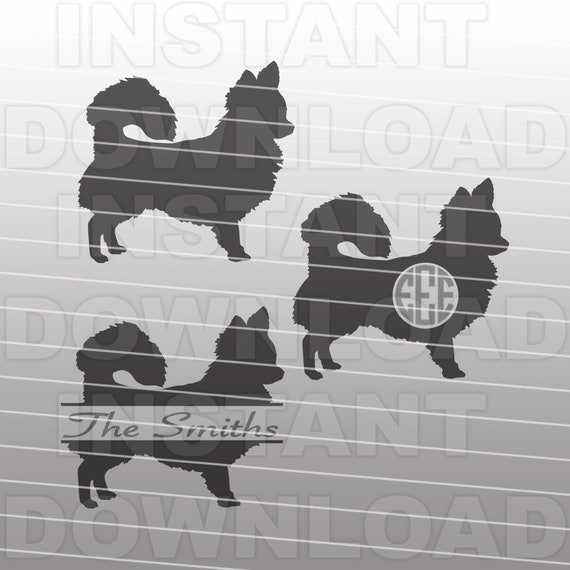 Long Haired Chihuahua Dog Svg File Cricut Svg Silhouette Etsy