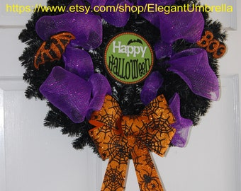 20 inch Decorative Halloween Wreath