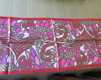 Large Silk Rectangular MOD Scarf