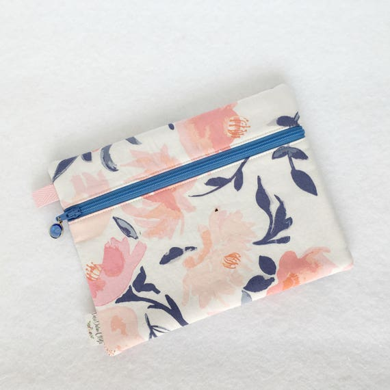Rectangle Pouch Pencil Case // Aquarelle Study in Wash by Bonnie Christine