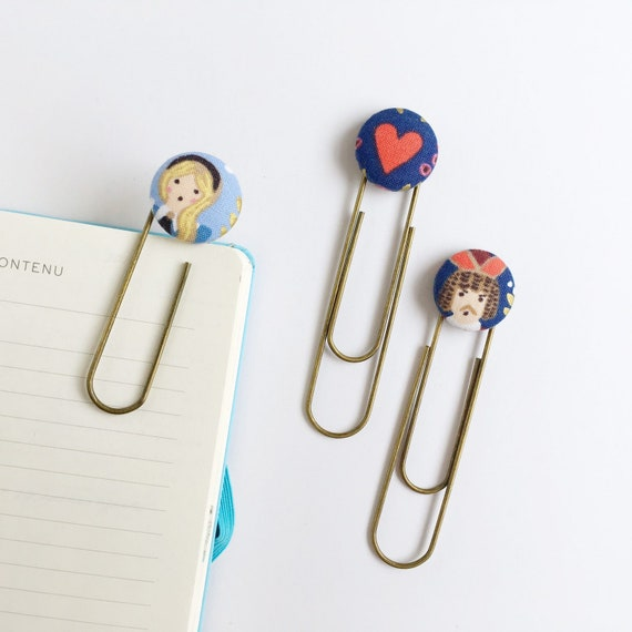 Bookmarks/Planner Clips// Alice
