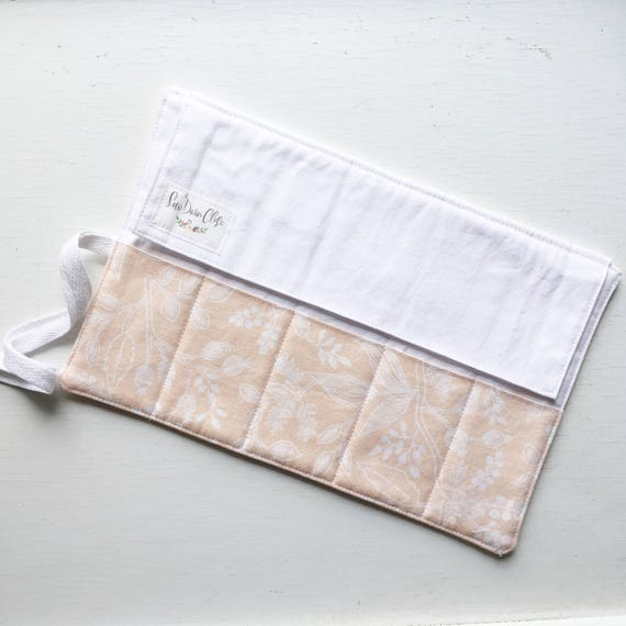 Shorty Pen Roll // Queen Ann in Peach by Rifle Paper Co