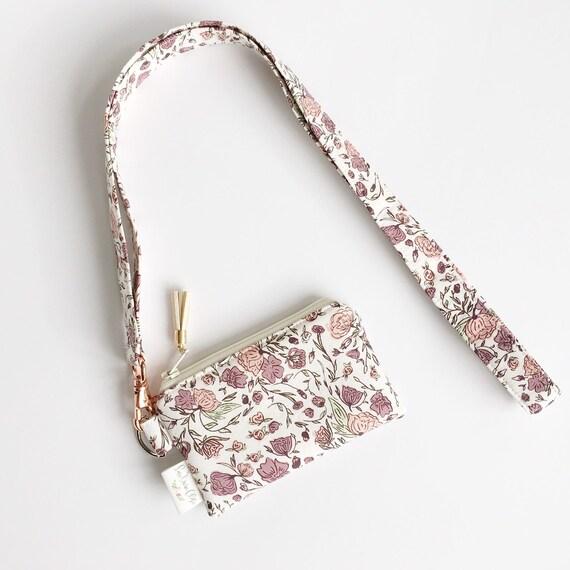 Lanyard Pouch // Blossom Drift
