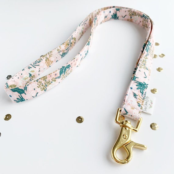 Lanyard // Rifle Paper co pink